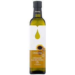 Clearspring Organic Sunflower Oil - 500ml