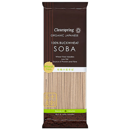 Clearspring Organic 100% Buckwheat Soba Noodles - 200g