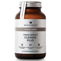 Wild Nutrition Food-Grown Cleanse Plus - 90 Capsules