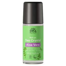 Urtekram Aloe Vera Crystal Roll On Deodorant Organic - 50ml