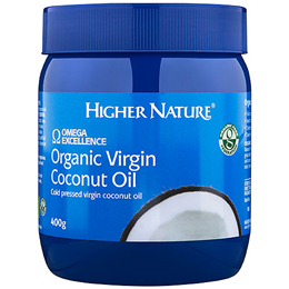 Higher Nature Omega Excellence Organic Virgin Coconut Oil - 400g