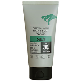 Urtekram Men Aloe Vera & Baobab Hair & Body Wash Organic - 150ml