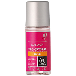 Urtekram Rose Crystal Roll On Deodorant Organic - 50ml