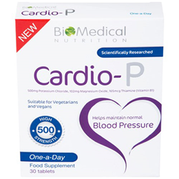 BioMedical Nutrition Cardio-P - Blood Pressure - 30 Tablets