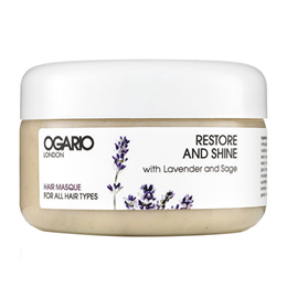Ogario Restore and Shine Hair Masque - All Hair Types - 200ml
