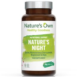 Natures Own Wholefood Nature`s Night - 80g Vegan Powder