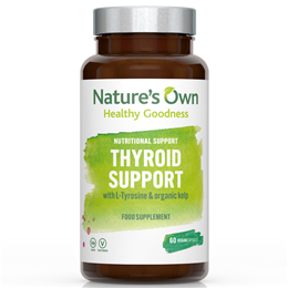 Natures Own Thyroid Support - 60 Tablets