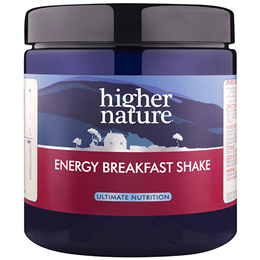 Higher Nature Energy Breakfast Shake - 270g Powder