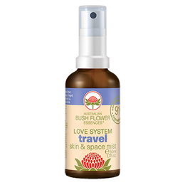 Australian Bush Flowers - Travel - Organic Mist - 50ml