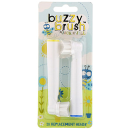 Jack N` Jill Buzzy Brush Replacement Heads 2 Pack
