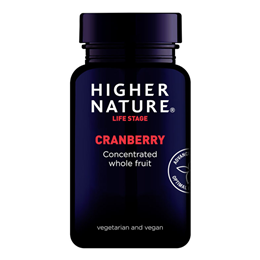 Higher Nature Cranberry Extract - Super Strength - 90 x 500mg Vegicaps