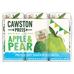 Cawston Press Kids Apple & Pear - 3 x 200ml Multi-Pack