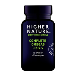 Higher Nature Complete Omegas 3-6-7-9 Complete Complex - 240 Capsules