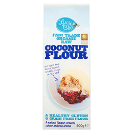 Lucy Bee Organic Fair Trade Coconut Flour - 500g
