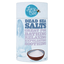 Lucy Bee Dead Sea Salts - 1kg