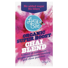 Lucy Bee Organic Fair Trade Chai Blend - 125g