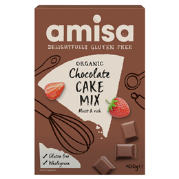Amisa Organic Chocolate Cake Mix - 400g