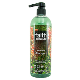 Faith in Nature Aloe Vera Rejuvenating Shampoo for Normal to Dry Hair - 740ml