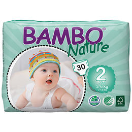 Bambo Nature Mini (Size 2) - 30 Nappies