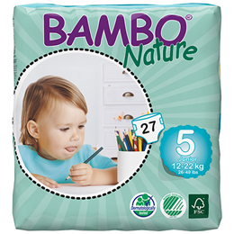 Bambo Nature Junior (Size 5) - 27 Nappies