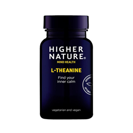 Higher Nature Theanine - 30 x 100mg Vegicaps