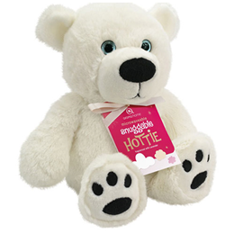 Aroma Home Snuggable Hottie - Lavender Fragrance - Polar Bear