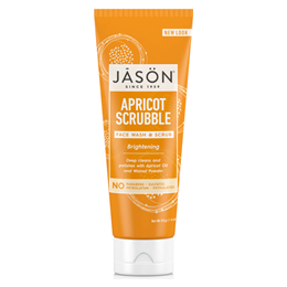 Jason Brightening Apricot Scrubble - Facial Wash & Scrub - 113g
