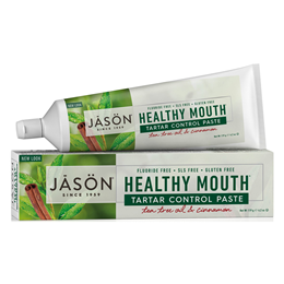 Jason Healthy Mouth - Toothpaste - Tea Tree & Cinnamon - 119g