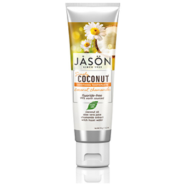 Jason Simply Coconut Chamomile Soothing Toothpaste - 119g