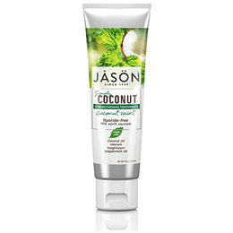 Jason Simply Coconut Mint Strengthening Toothpaste - 119g