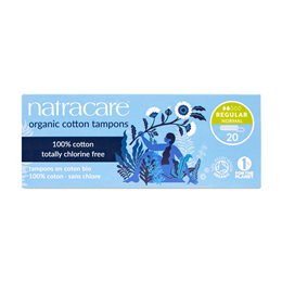 Natracare Organic Tampons - Regular - 20 Pack