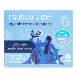 Natracare Organic Tampons - Super - 20 Pack