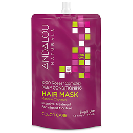 Andalou 1000 Roses Colour Care Deep Conditioning Hair Mask - 44ml