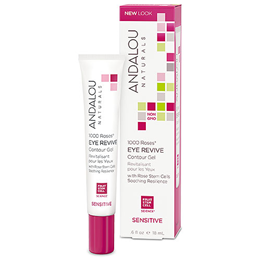 Andalou 1000 Roses Eye Revive Contour Gel - 18ml
