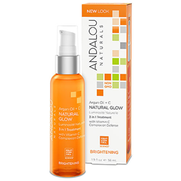 Andalou Argan Oil + C Natural Glow 3-in-1 Treatment - 56ml