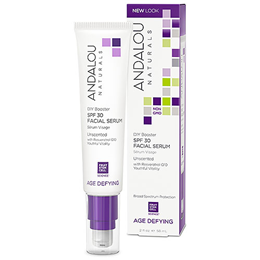 Andalou DIY Booster SPF 30 Facial Serum Unscented - 58ml