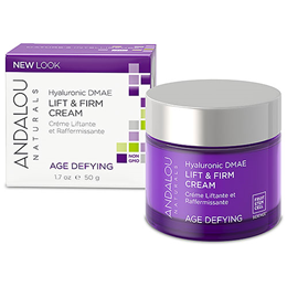 Andalou Hyaluronic DMAE Lift & Firm Cream - 50g