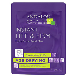 Andalou Age Defying Instant Lift & Firm Facial Sheet Mask - 1 Mask