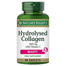 Nature`s Bounty Hydrolysed Collagen 1000mg with Vitamin C - 90 Caplets