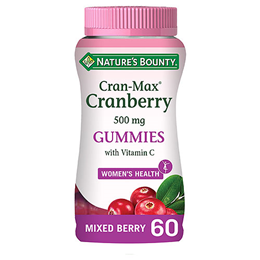 Nature`s Bounty Cran-Max Cranberry - 60 Gummies