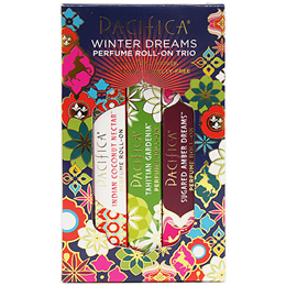 Pacifica Perfume Roll-On Trio Set
