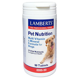 LAMBERTS Multi Vitamin and Mineral Formula for Dogs - 90 Tablets