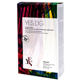 YES DG - Organic Water & Plant-Oil Based Personal Lubricants Pack