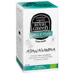 Royal Green Ashwagandha - 60 Vegicaps