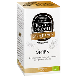 Royal Green Ginger - 60 Vegicaps
