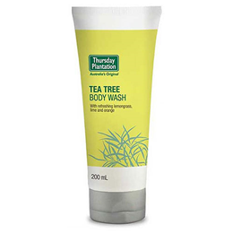 Thursday Plantation Tea Tree Body Wash Cream - 200ml - Best before date is 28th February 2019