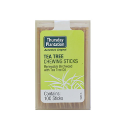 Thursday Plantation Tea Tree Chewing sticks - 100 Pieces