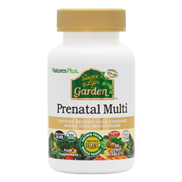 Nature`s Plus Source of Life Garden Organic Prenatal Multi - 90 Tablets