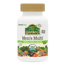 Nature`s Plus Source of Life Garden Organic Men`s Multi - 90 Tablets