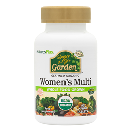 Nature`s Plus Source of Life Garden Organic Women`s Multi - 90 Tablets